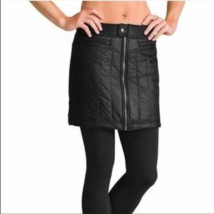 Athlete toasty navy quilted skirt size 8 navy